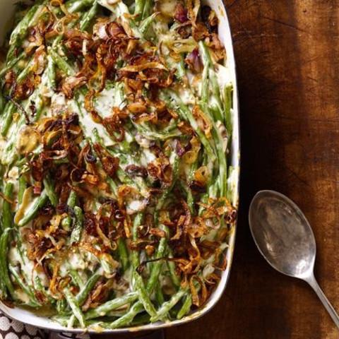 Green Bean Casserole With Crispy Shallots