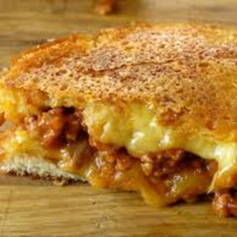 Grilled Cheese Sloppy Joe