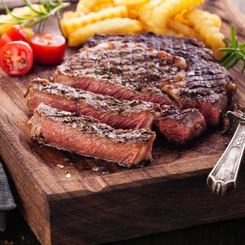 Grilled Rib Eye Steaks