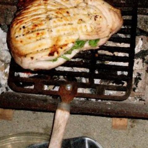 Grilled Stuffed Swordfish