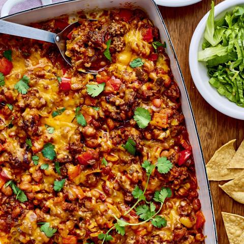 Ground Beef Taco Casserole