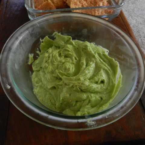 Guacamole with Cottage Cheese