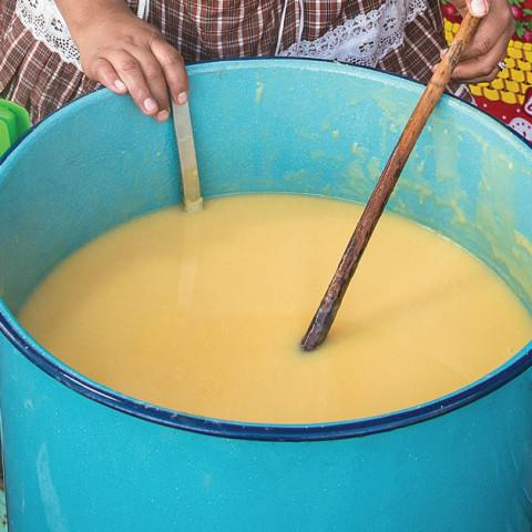 Guatemalan Sweet Corn and Milk Drink (Atol de Elote)
