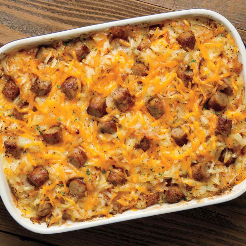 Hash Brown and Italian Sausage Casserole