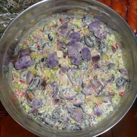 Hawaiian Surf Purple Potato Salad
