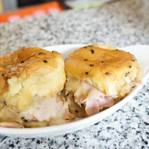 Hawaiian Sweet Roll Ham Sandwich Sliders