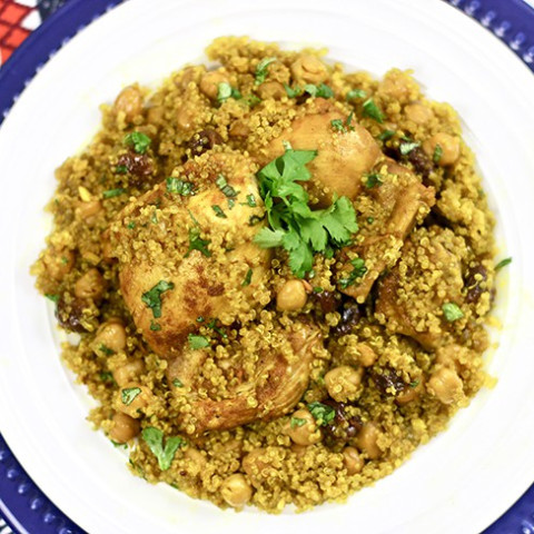 Healthy 30-Minute Instant Pot Moroccan Chicken