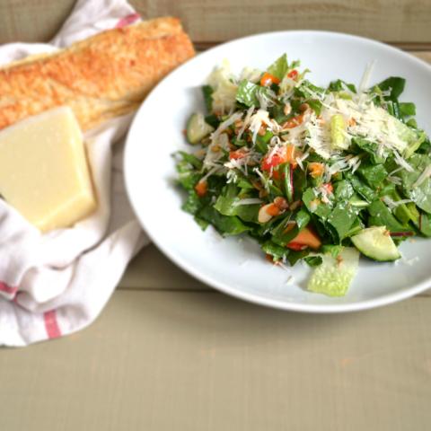 Healthy Dandelion Greens Salad