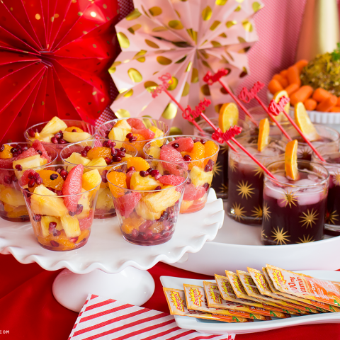 Healthy Holiday Party - Easy Christmas Party Decor and a Gluten-Free Menu