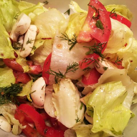 Healthy Iceberg Salad Recipe