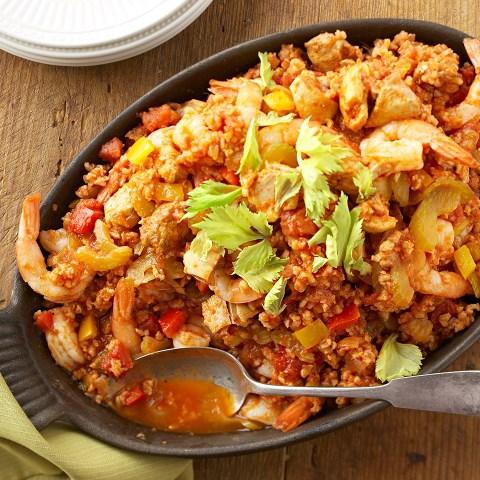 Healthy Low Calorie Jambalaya Recipe