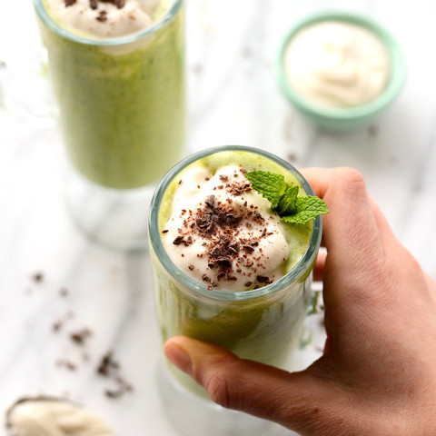 Healthy Mint Chip Shake