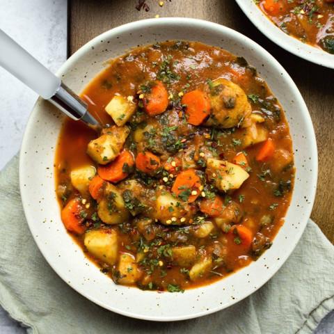 Healthy Potato Carrot Tomato Soup
