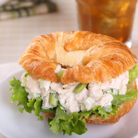 Healthy Cranberry Chicken Salad