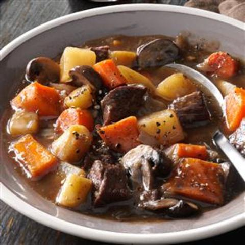 Hearty Beef and Sweet Potato Stew Recipe