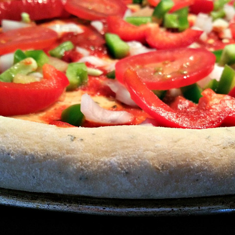 Herb Crusted Pizza Dough