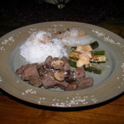 Hibachi Style Steak
