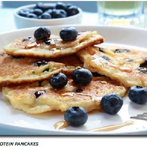 Pancakes, High Protein Blueberry