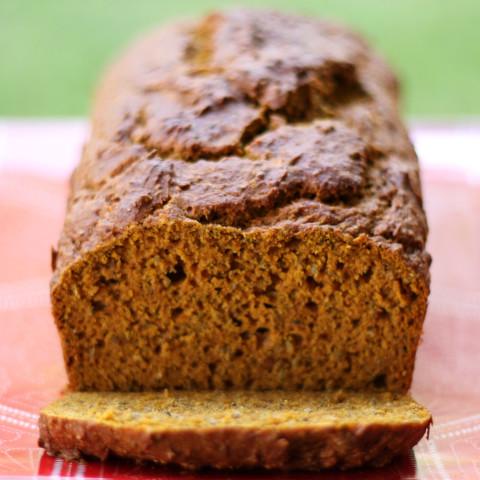 High Protein Pumpkin Bread