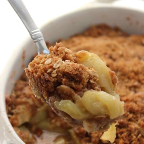 Traditional Apple Crisp