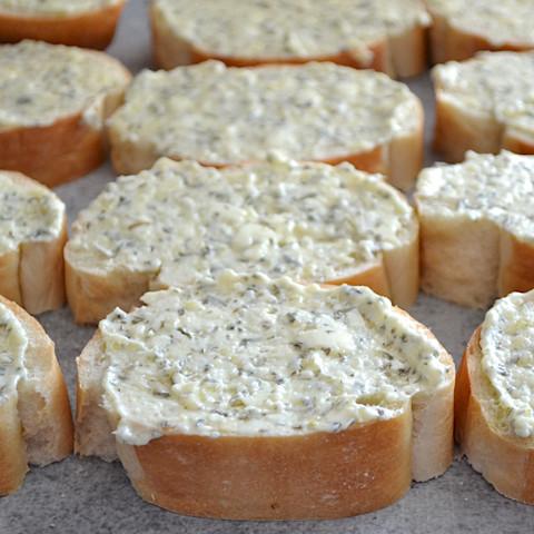 Homemade Freezer Garlic Bread