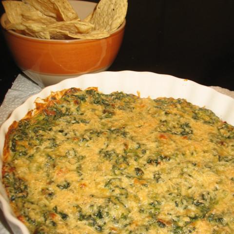 Hot Cheesy Spinach Dip