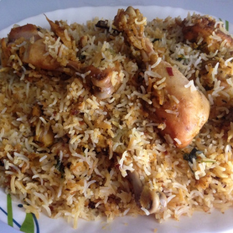 Hyderabadi Chicken Dum Biryani Recipe