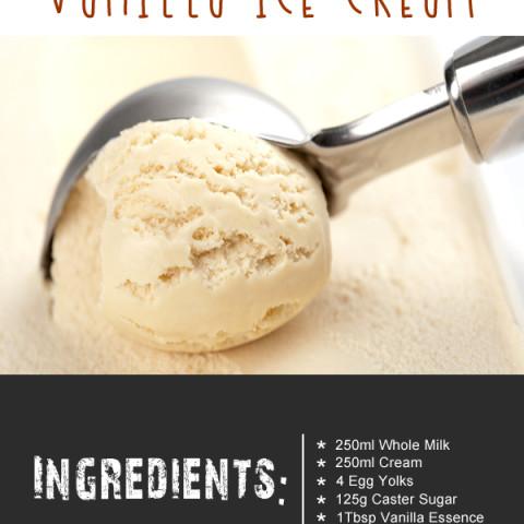 Ice Cream Maker Luxury Vanilla Ice Cream