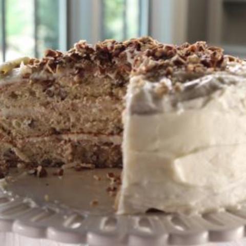 Iced Italian Cream Cake