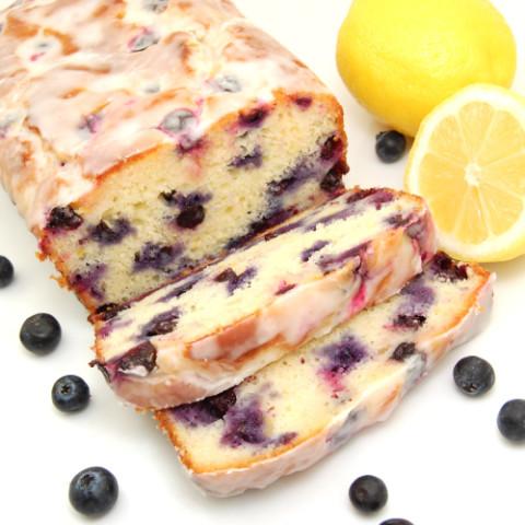 India-Lemon-Blueberry Yogurt Loaf