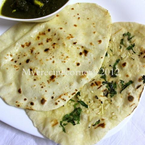 Indian bread- Naan without Tandoor