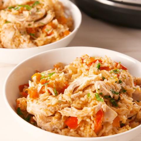 Instant Pot Chicken & Rice