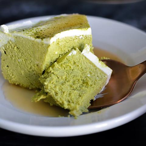 Instant Pot Matcha Cheesecake