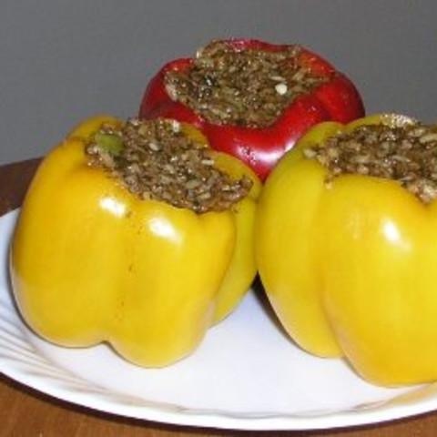 Iranian Stuffed Peppers