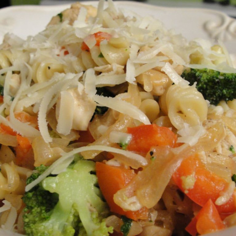Italian Chicken and Vegetable Pasta