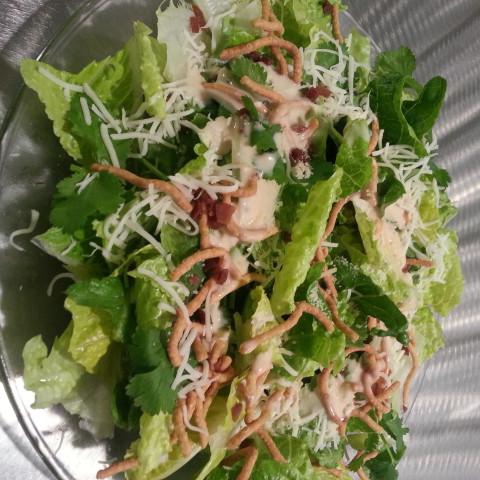 Italian-Mexican Cilantro Salad