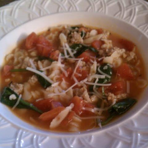 Italian Sausage Soup (5 Pts)
