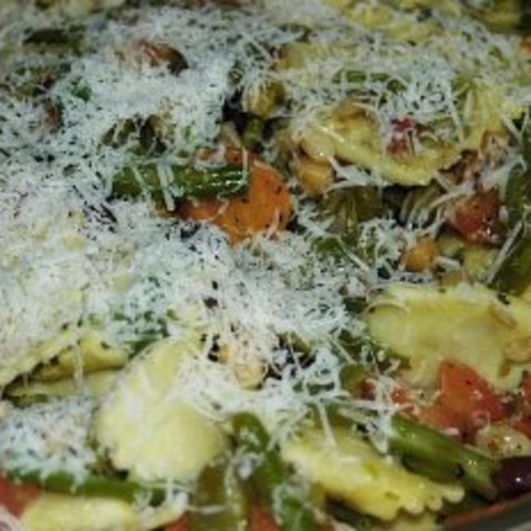 Italian-Style Vegetables with Pasta (Lf)