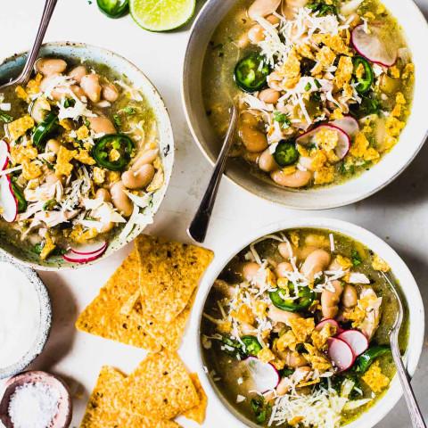 Jalapeño Lime Chicken Soup