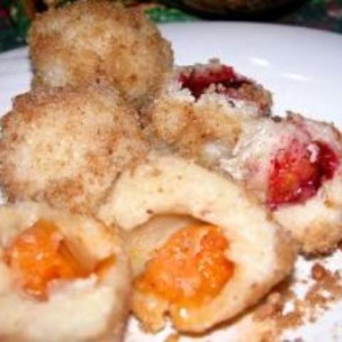 Jam Potato Dumplings - (gomboc)