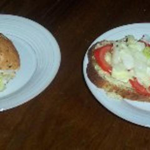 Jan's Dijon Chicken Salad Sandwiches