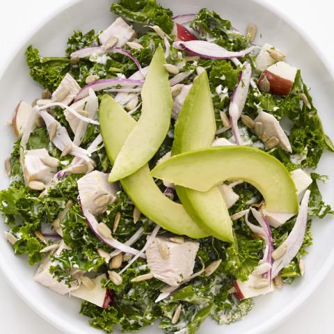 Kale-Turkey Chopped Salad