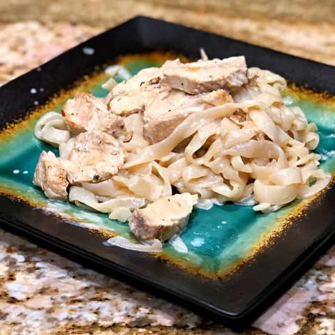 Keto Chicken Fettuccini Alfredo