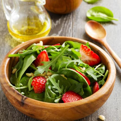 Kim's Strawberry Spinach Salad