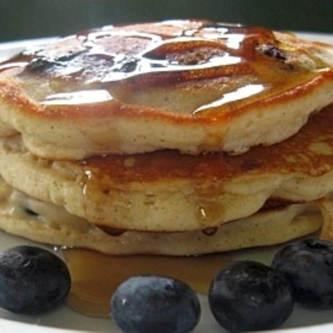 Lazy Day Blueberry Pancakes