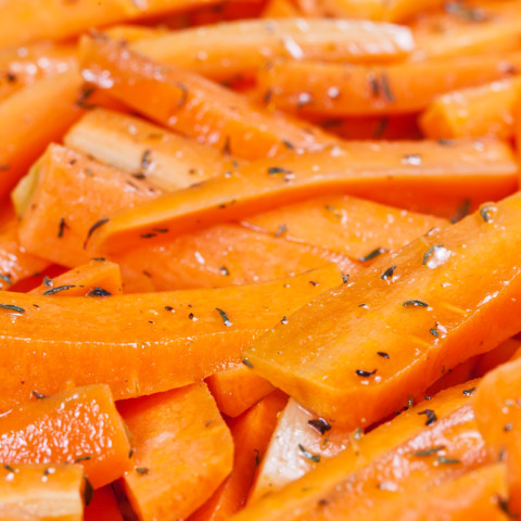 Leah's Favorite Roasted Carrots