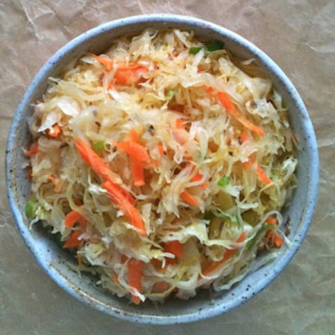 Leah S Healthy Sauerkraut Salad