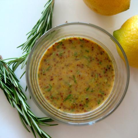 Lemon Dijon Herb-Crusted Grilled Pork Tenderloin