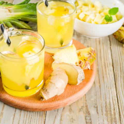lemon garlic ginger drink