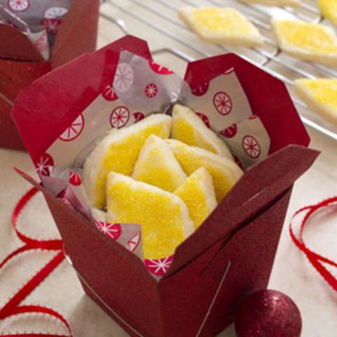 Lemon Shortbreads